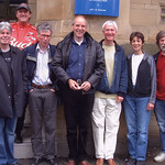 George Robinson, Reg Hughes, Andy Wilson, Michael Werbicki, Tony Charlton, Polly Foster, Laurie Newton