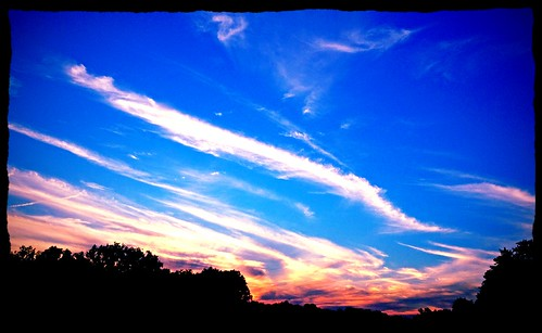 sunset sky clouds maryland aviary iphone hss indiglow baltimoreco cmwdblue sliderssunday