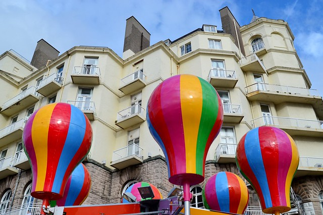 Grand Hotel with Balloons