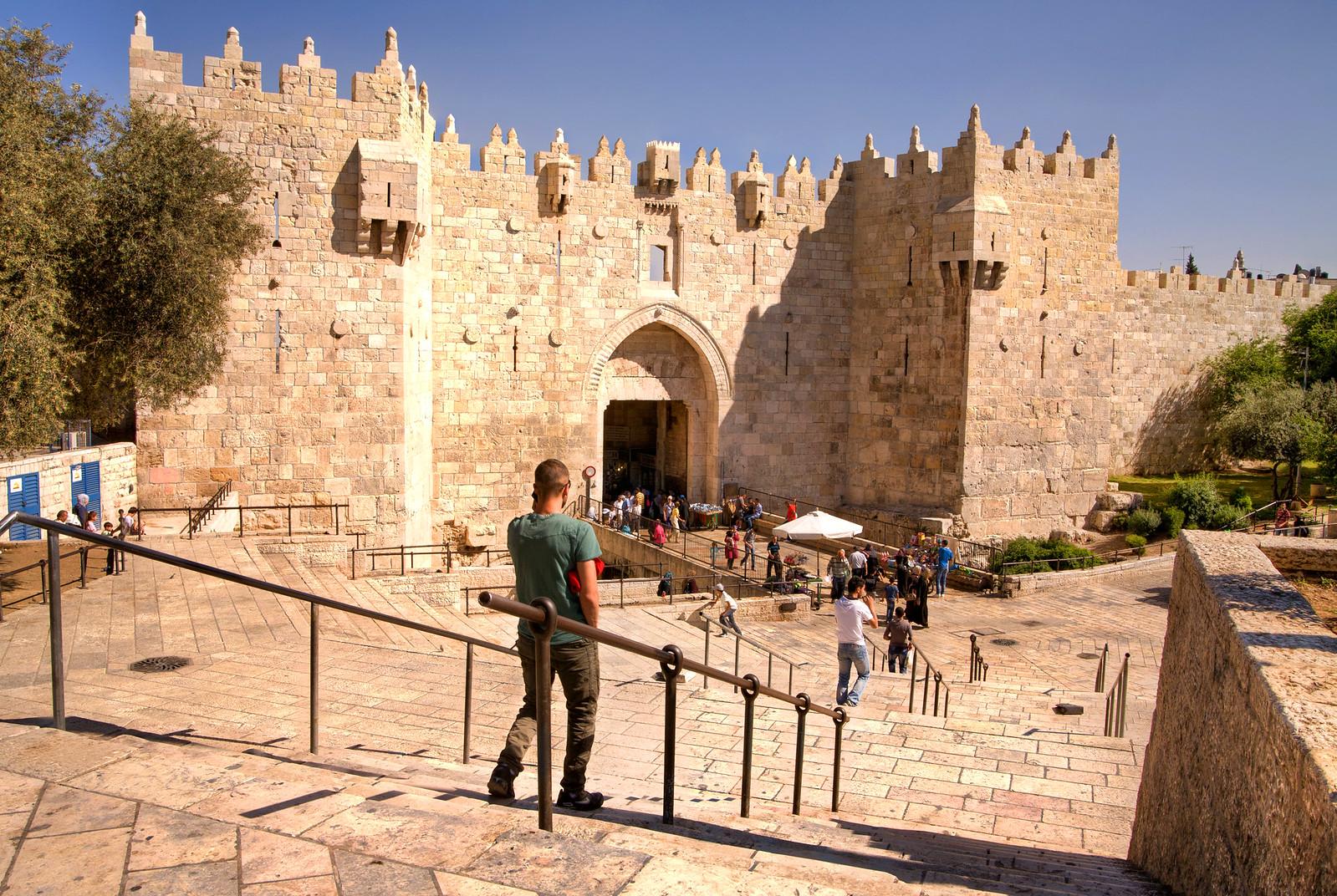 Jerusalem_OLd City_Damascus Gate_Sha'ar Shkhem _3_Noam Chen_