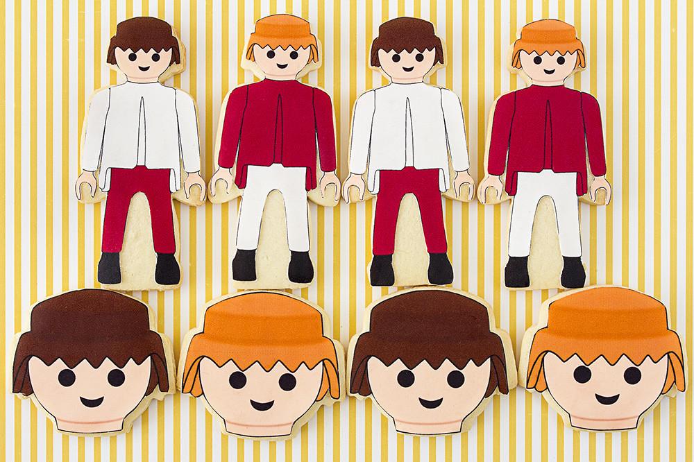 Galletas decoradas Playmobil