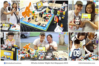 BricksBen - Singapore Night Festival NParks Artists Night Out - 30 August 2014 | by BricksBen LEGO® Creations