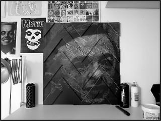 LOGGIA xyz stencil doppelganger 09/2014