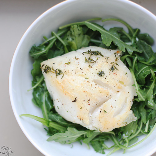 Cod and Arugula | by The Better Martha