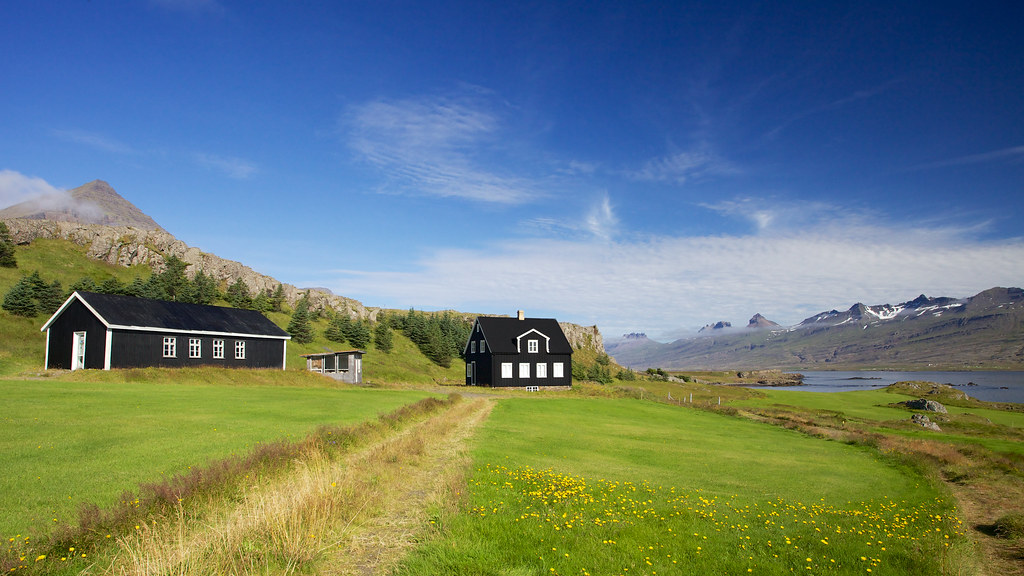 Black House, Icelandic | Can you imagine having this view ...