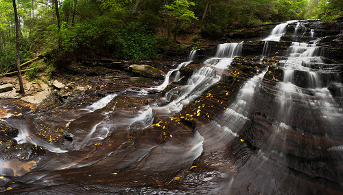 panorama nature water georgia landscape outdoors stream waterfalls cascade northgeorgia minnehahafalls georgiawaterfalls southernappalachians canon1740mmf40lusm canon6d earlyfalls