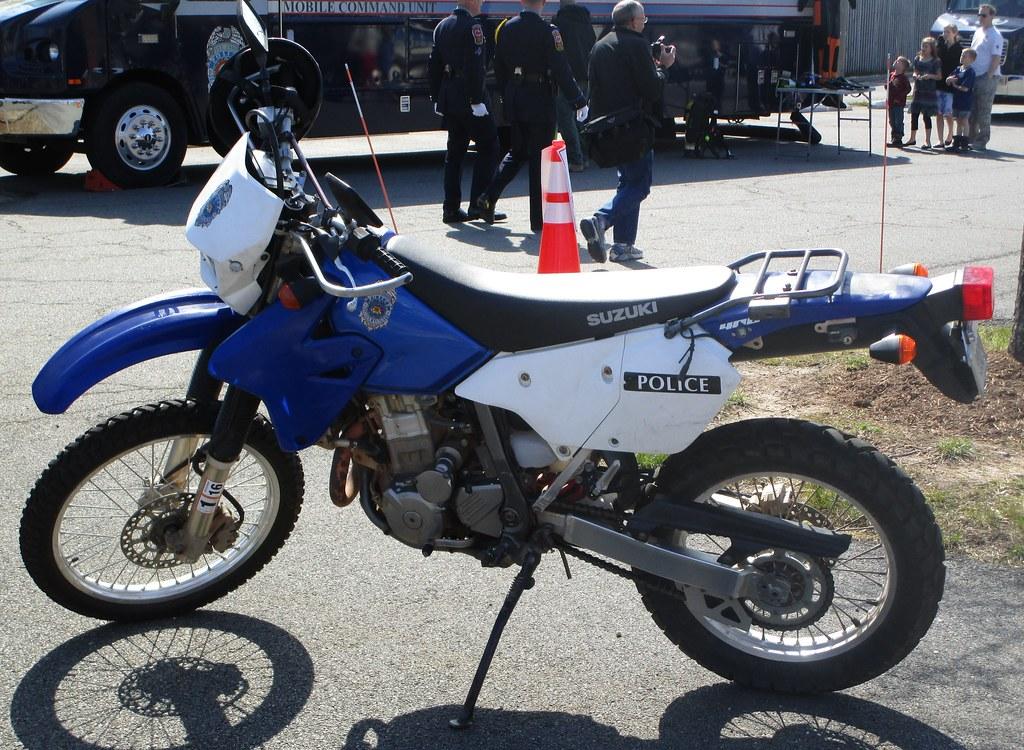 Fairfax County Police Department Suzuki Dirt Bike | A Fairfa
