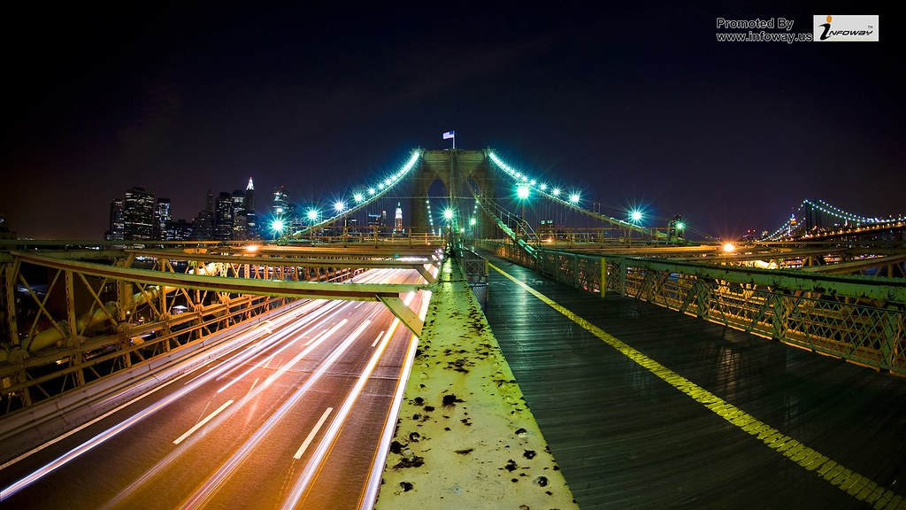 Halfay Brooklyn Bridge Hd Wallpaper Halfay Brooklyn Bridge
