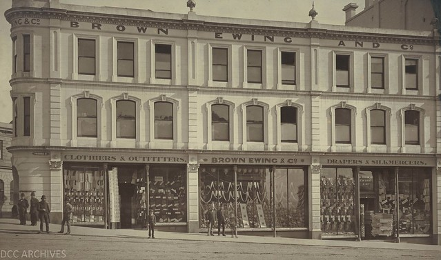 Cnr Manse and Princes Streets 1879