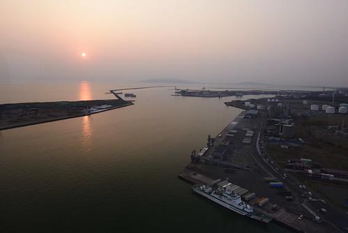 sunset japan 日本 akita 秋田 tohoku selion