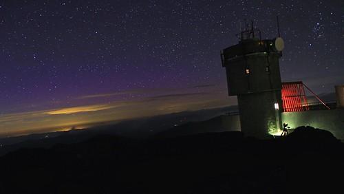 new summer sky mountain tower weather night stars star washington twilight mt wind north peak august nh clear mount observatory instrument summit aug anemometer 2014 hamsphire