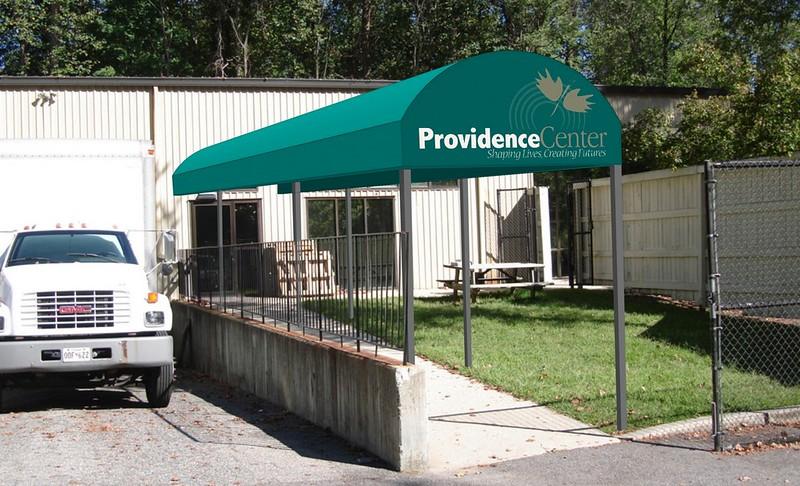 Entrance Canopy Providence Center Rendering 2