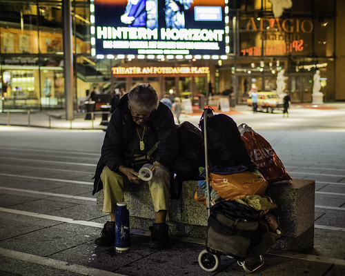 Homeless, Beyond Horizon | by kohlmann.sascha