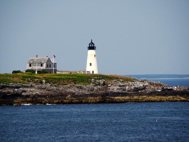 Casco Bay Lighthouse, Ferry Beach State Park, Saco, Maine, Aug 2013