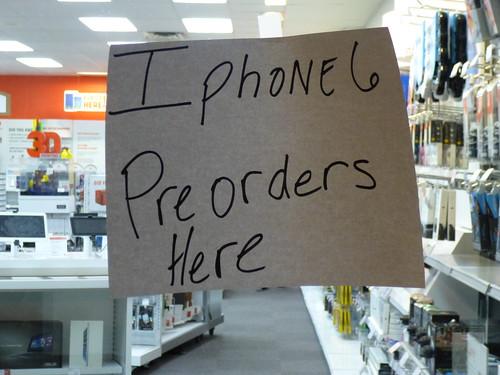 iPhone 6 Pre-Orders
