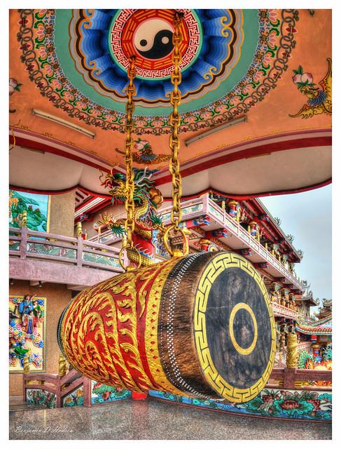 Najasaataichue Chinese Temple Drum