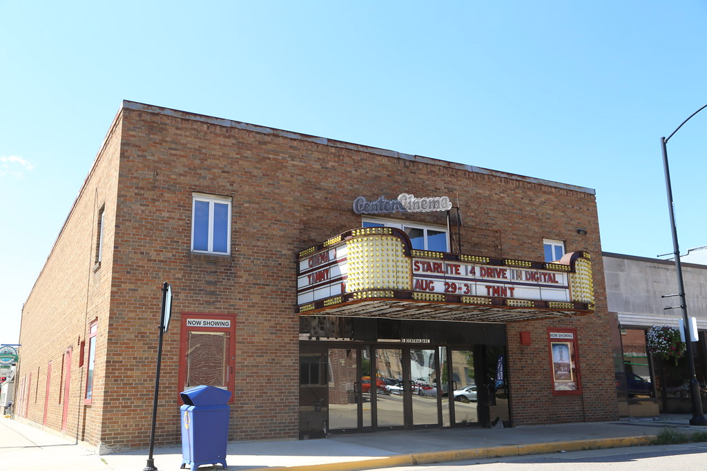 Richland Center Wisconsin Center Cinema Movie Theater R Flickr