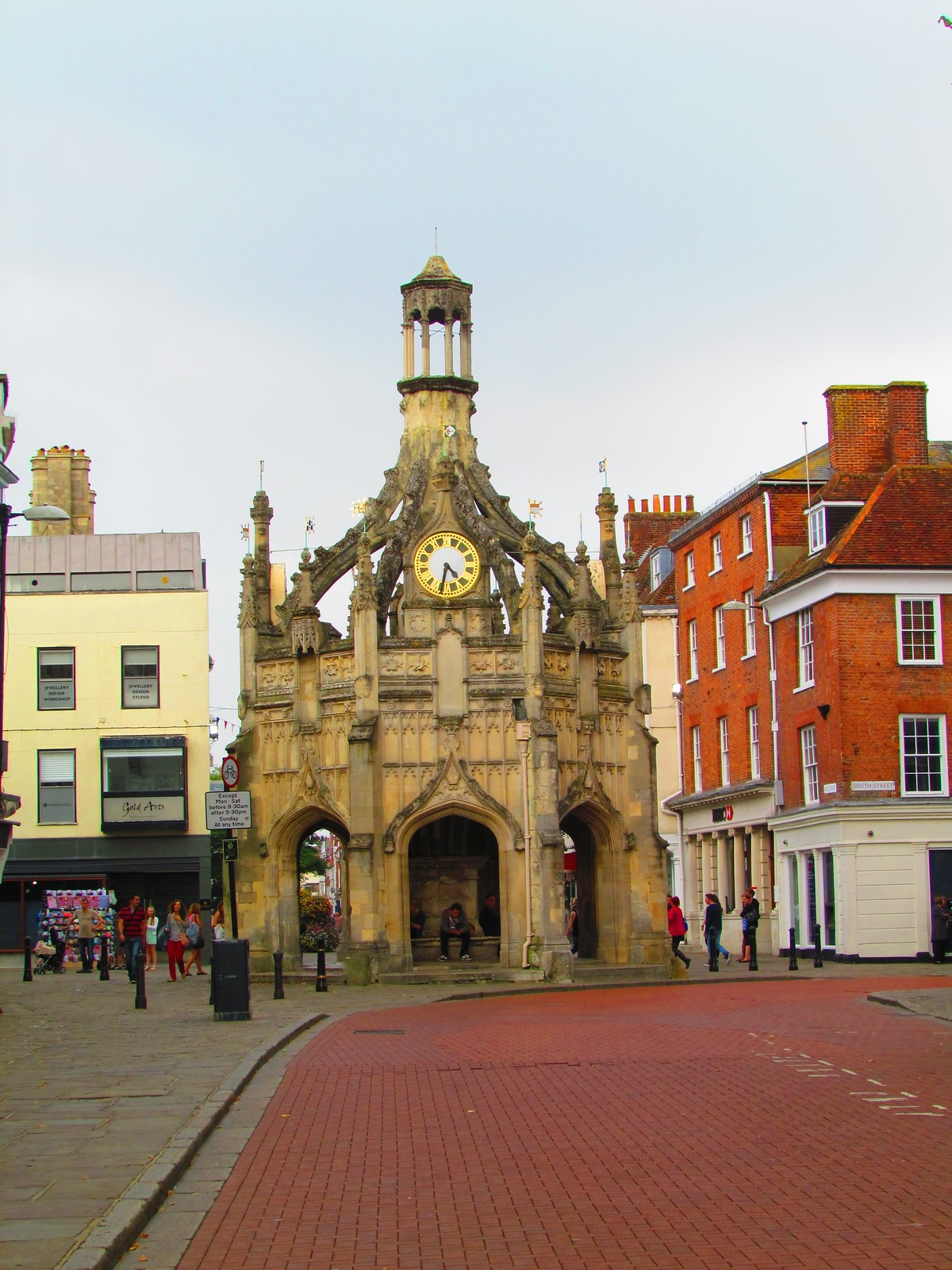 photo from walk Chichester cross