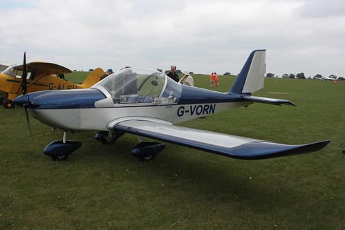 G-VORN EV-97 Eurostar [PFA 315-14299] Sywell 030911