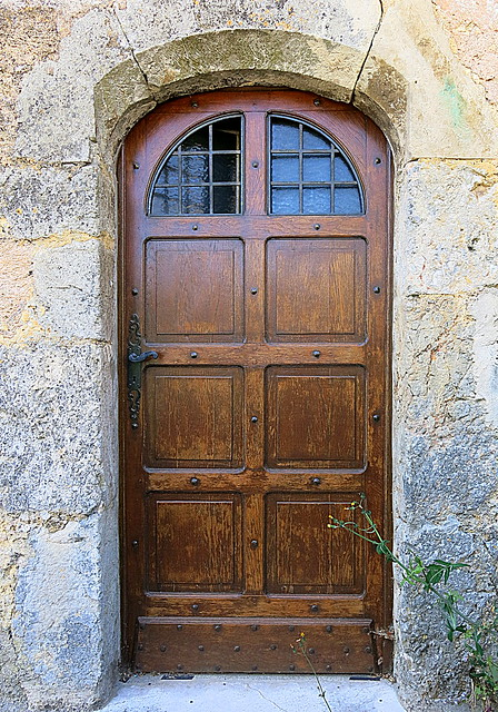 A door, Ampus, Var, Provence