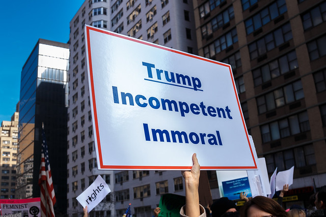 Trump. Incompetent. Immoral.