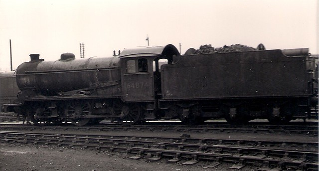 64874 Gresley J39 locomotive
