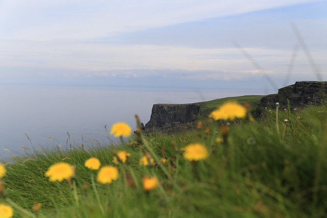 another view - Cliffs of Moher