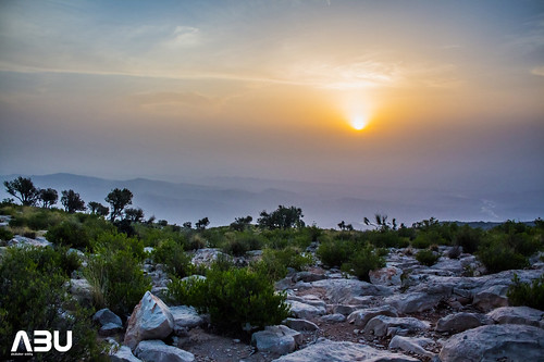 Amazing Sun rise at the Gorakh Hill station