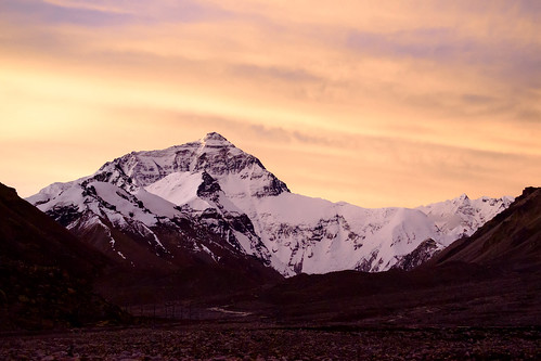 china landscape tibet qomolangma snowmoutain