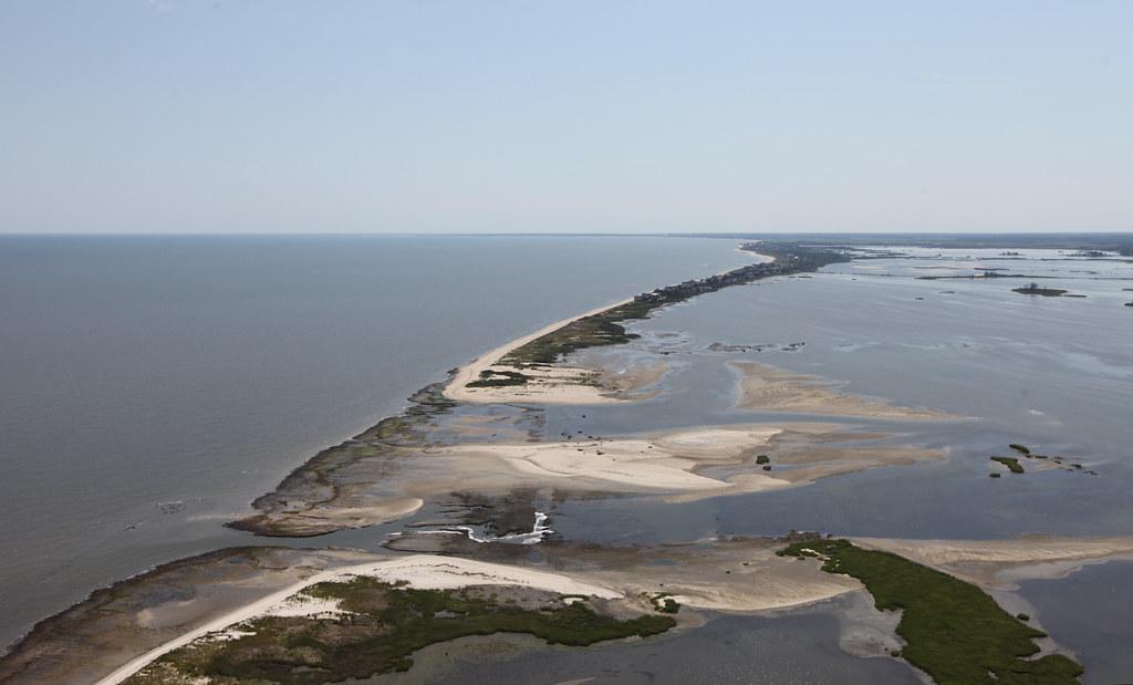 Breach at Prime Hook National Wildlife Refuge (DE)