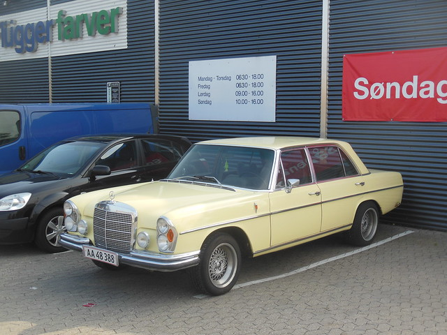 US import Mercedes 300SE