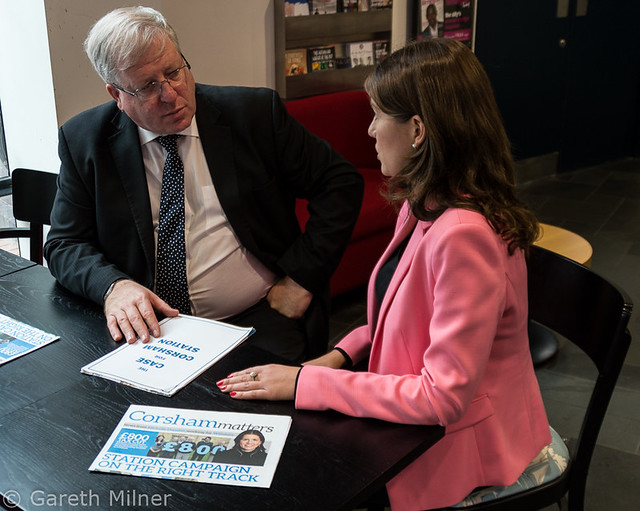 Patrick McLoughlin MP & Michelle Donelan