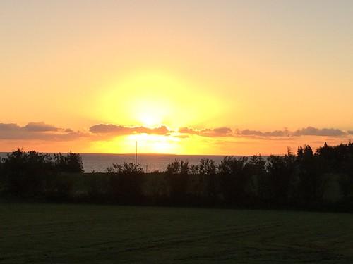 nova sunrise novascotia scoti riverjohn