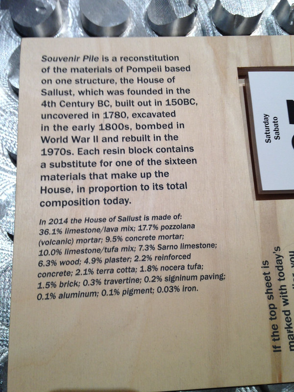 Pompeii housing materials