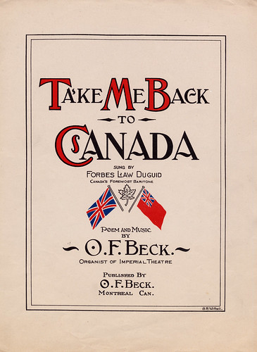 Take Me Back to Canada / Ramenez-moi au Canada | by BiblioArchives / LibraryArchives