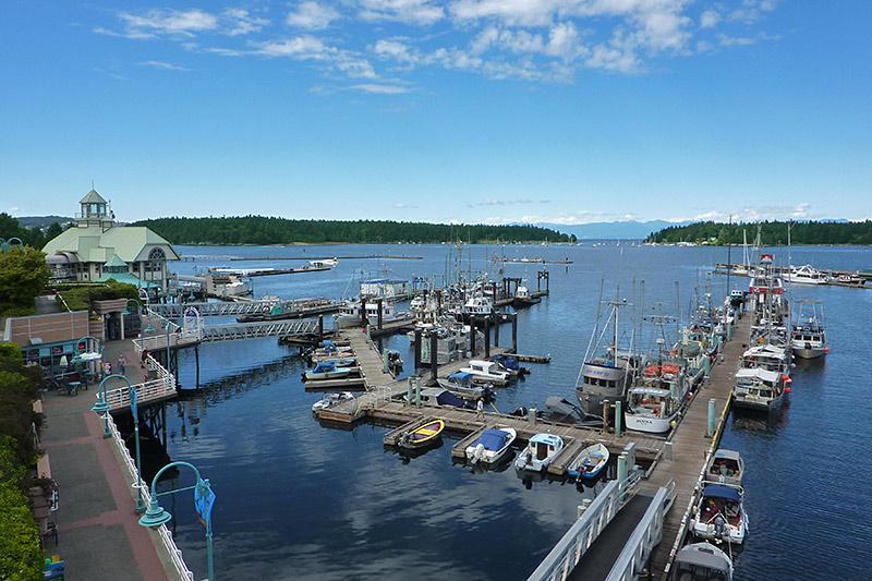 Nanaimo Harbour, Nanaimo, Vancouver Island, British Columbia, Canada