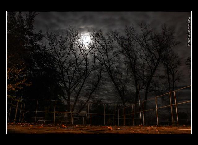 De noche y en el barrio