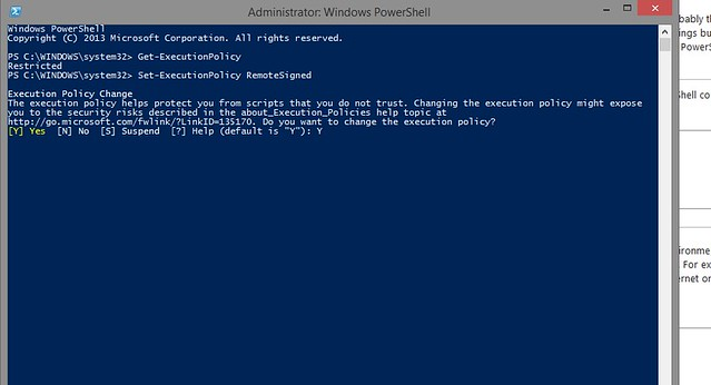 messing with PowerShell (1)