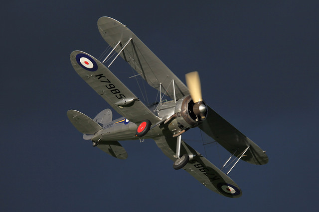 Gloster Gladiator K7985