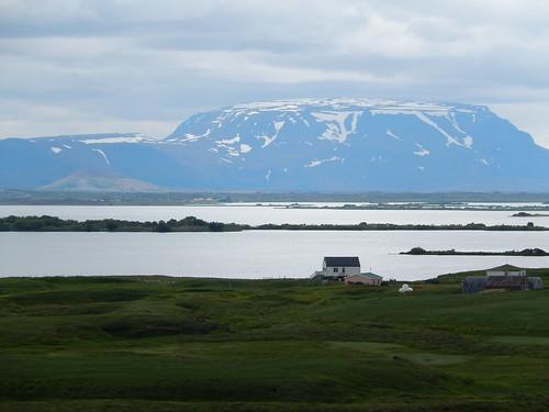 IJsland - Myvatn lunch break - 1