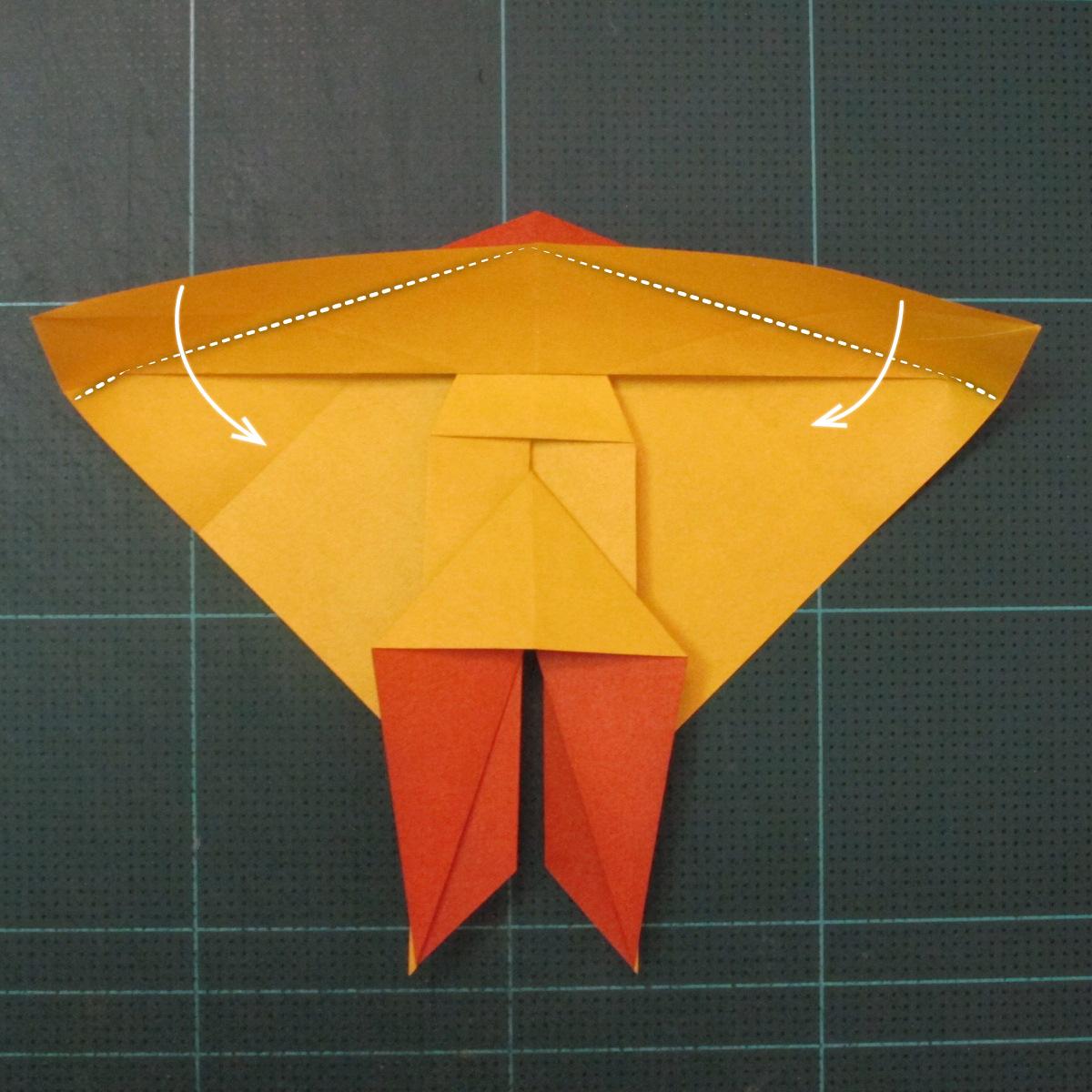 การพับกระดาษเป็นรูปปลาคาร์ฟ (Origami Koi Fish) 016