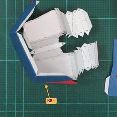 วิธีทำของเล่นโมเดลกระดาษซุปเปอร์แมน (Chibi Superman  Papercraft Model) 028