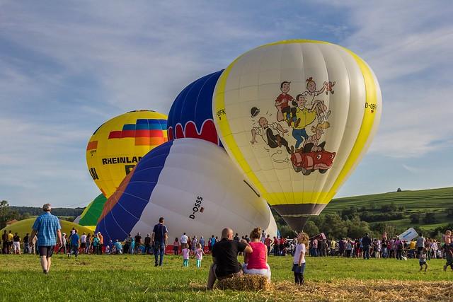 2. Heißluftballon- und Drachenfestival