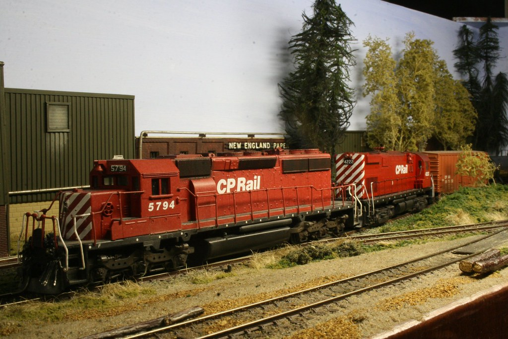 CP5794 & 4222 Switching at Wheelock Mill