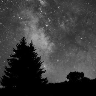 Black and white Milky Way | by Gadjou