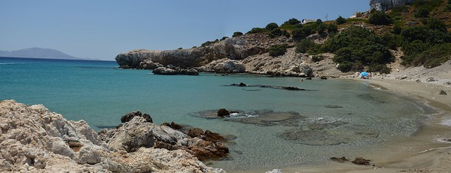 Beach of St. George(Ikaria)-panoramic