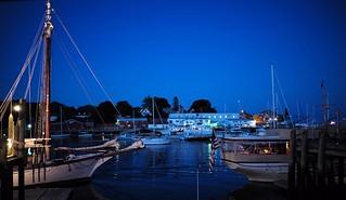 Camden Harbor at Night | by romanboed