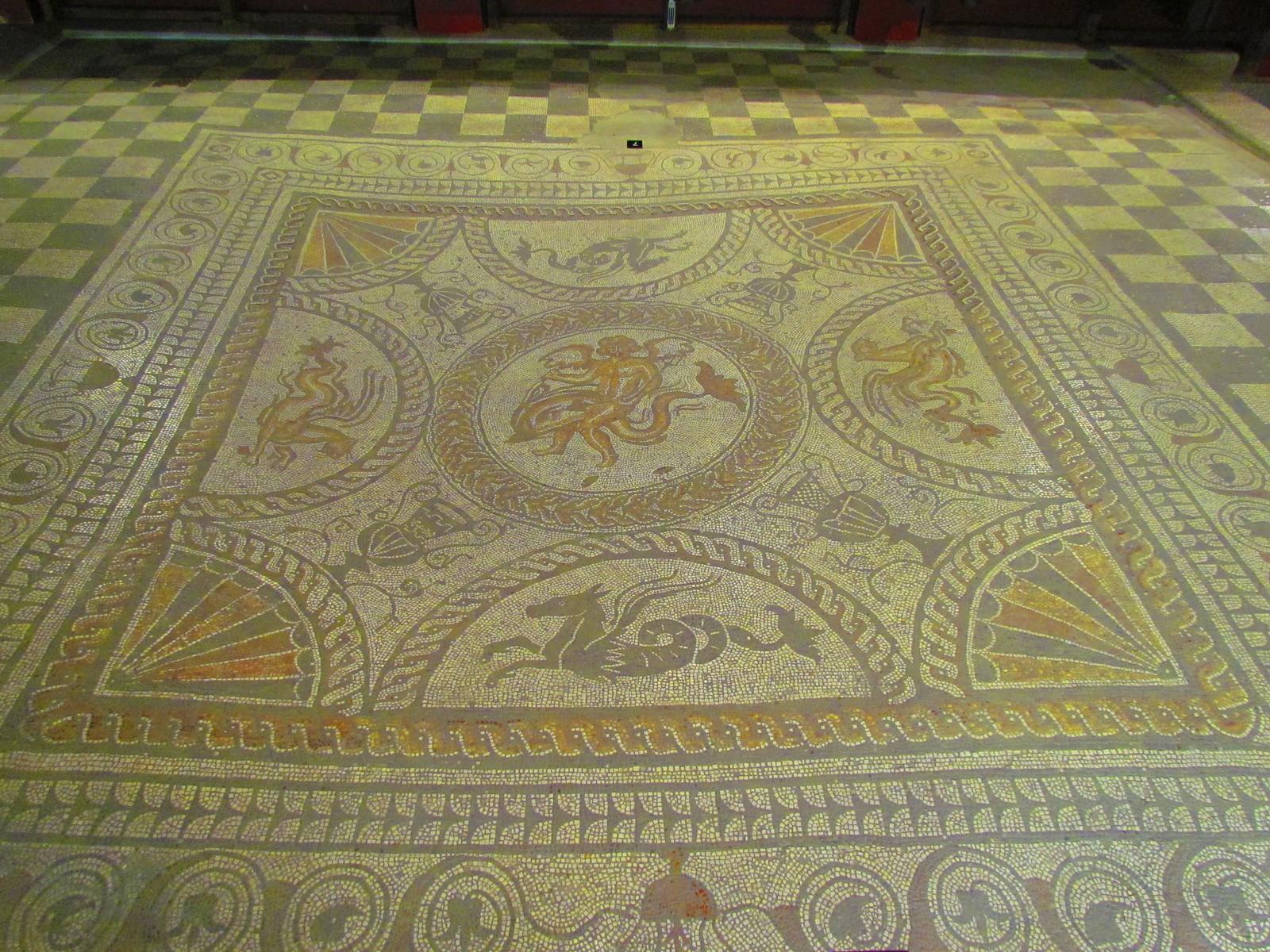 photo from walk Mosaics at Fishbourne Palace