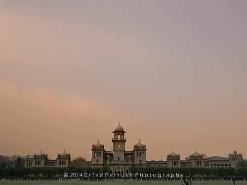old pakistan college yellow landscape university peshawar 2014 kpk islamia