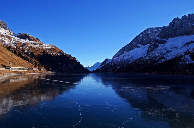 Fedaia Lake - Winter 2016-2017 Edition #2